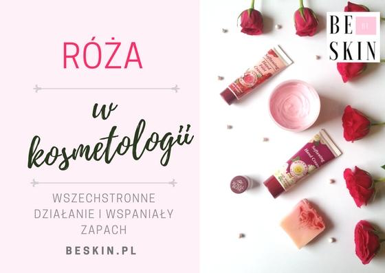 Róża w kosmetologii – wspaniała i zjawiskowa